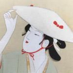 上村松園の美人画をお買い受けいたしました