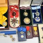 勲章を多数お買受けしました