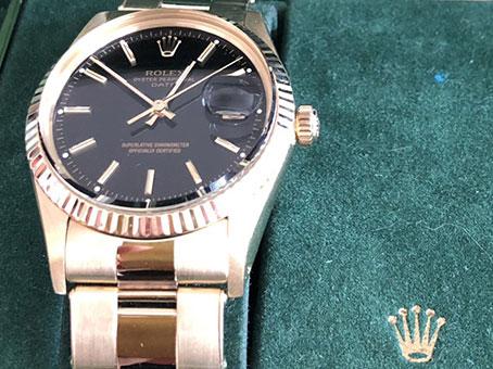 ロレックス オイスターPP 腕時計を買取りました。