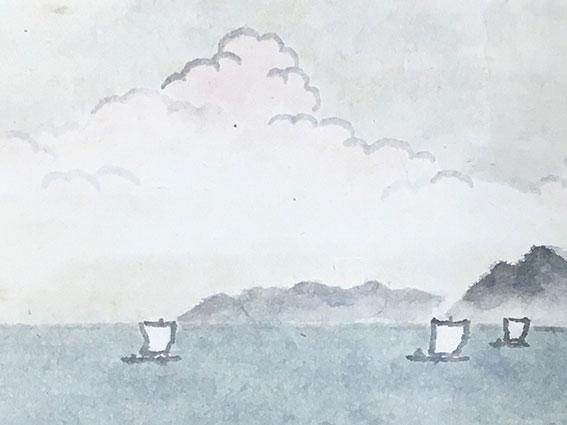酒井三良の風景画をお買受けいたしました