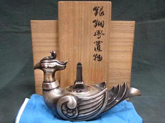 秦蔵六の茶道具を出張買取しました